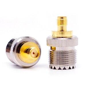 1 шт. гнездо SMA в гнездо UHF, RF коаксиальный разъем, адаптер SO 239 SO239 в SMA|Соединители|   | АлиЭкспресс