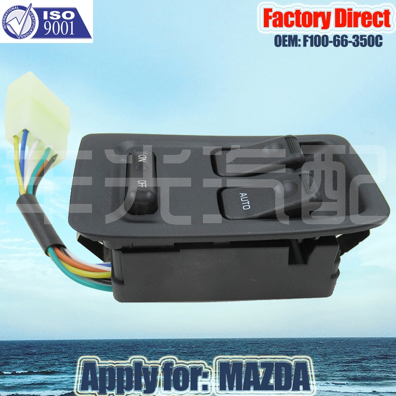 Factory Direct Master Auto Power Window Control Switch Apply For Mazda  RX7 RX-7 FD3S F100-66-350C Power Window Switch