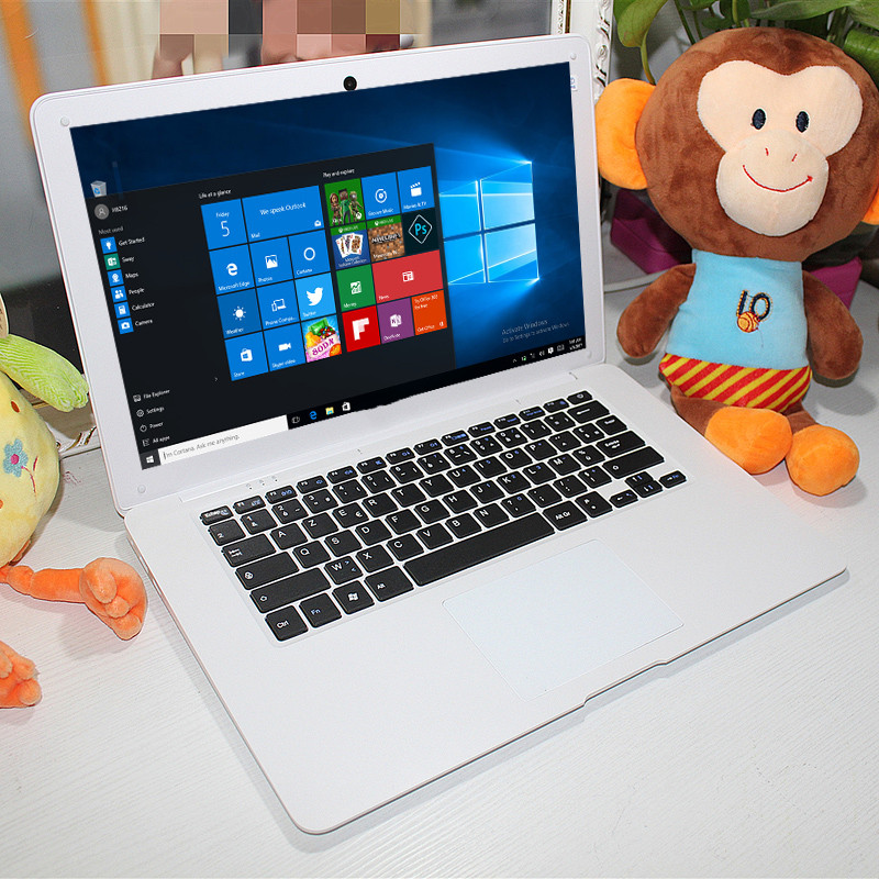14.1 Inch  Laptop Windows 10 2GB RAM 32GB Z3735F 1366 X 768 Pixel TN Mini HDMI Multi-touch HD IPS Display