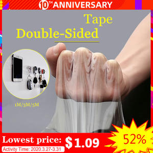 Transparent Adhesive-Tape Clear Nano Washable Waterproof 3m/5m Reuse No-Trace