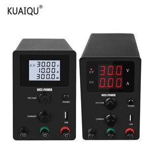 Image 1 - Regulowany zasilacz laboratoryjny napięcie i prąd Regulator zasilacze źródło ławki cyfrowe 30V 10A 60V 5A 120V 3A