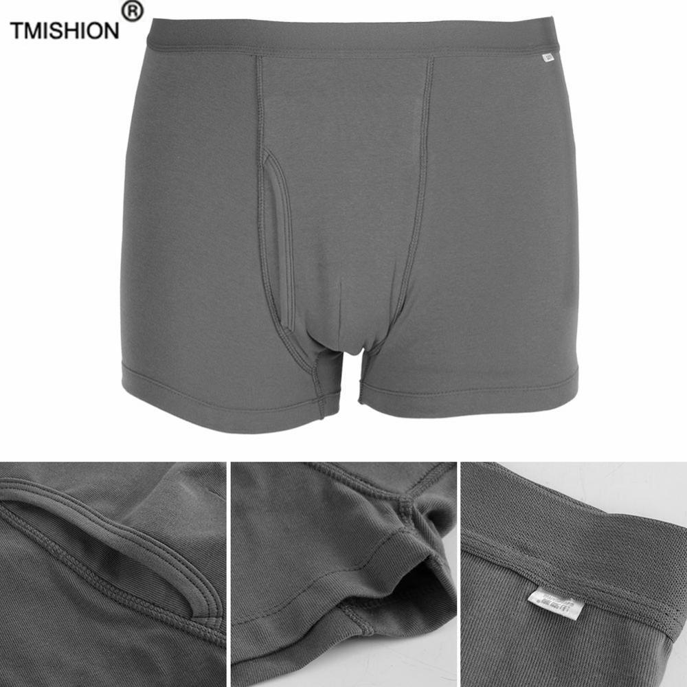 Подгузник для взрослых, мужские моющиеся шорты для недержания мочи, открытое нижнее белье, Многоразовые Дышащие Подгузники для пациентов д...