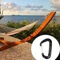 Chaud En Aluminium D'aviation Crochet Boucle D Anneau Mousqueton Clip Porte clés Boucle Vis Porte Crochet Boucle À Ressort pour Hamac Camping H Escalade Accessoires     -