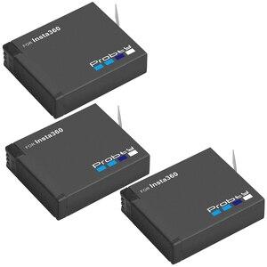 Image 2 - 3PCS für Insta360 ONE X akku + smart display ladegerät für Insta360 One X kamera zubehör