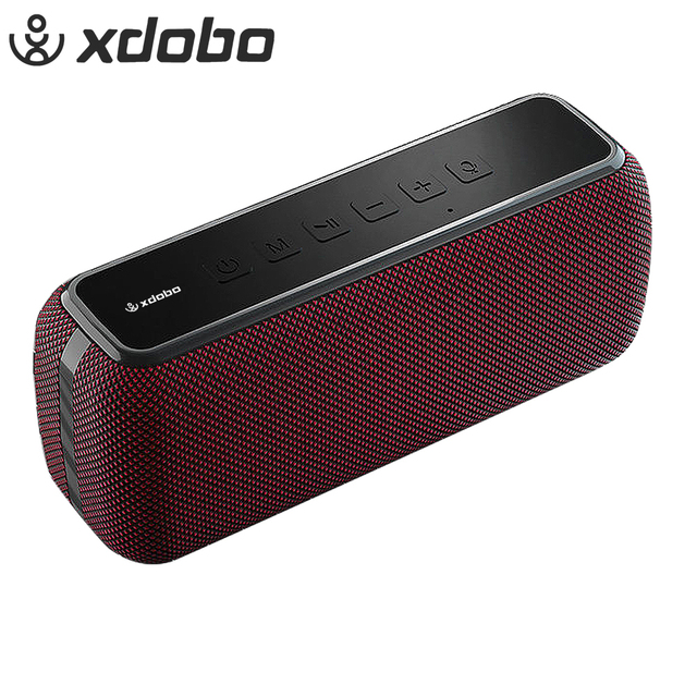 XDOBO X8 60W Portable Wireless Bluetooth Speakers TWS Bass with Subwoofer IPX5 Waterproof Connection distance 80m 15H Play time 1