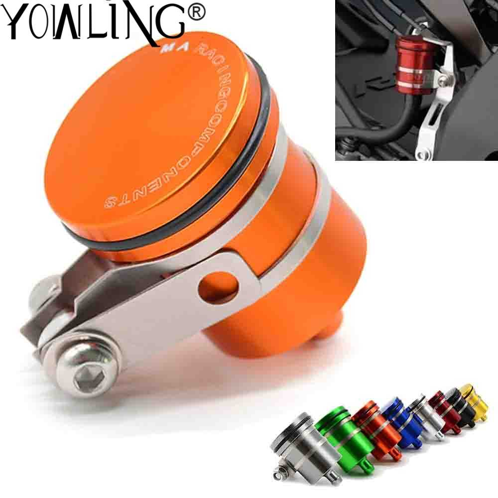 EXC SX XC 125 150 200 250 300 350 400 450 Motorcycle Aluminum Brake Clutch Fluid Reservoir Front or Rear Oil Cup For KTM 1050 1090 1190 1290 ADV ADVENTURE DUKE 125 200 390 690 RC 125 200 390