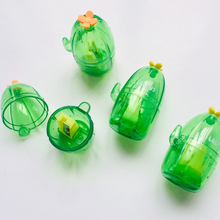 1 Pcs New Cute Cactus Shape Single Hole Pencil Sharpener Student Cartoon
