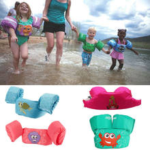 Toddler Life Jacket Kids Swim Vest Arm Bands Swimming Pool Wear Float Safe(China)