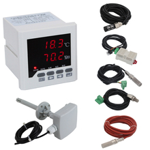 0,0~ 99.9% RH,-40~ 120 Цельсия интеллектуальный цифровой регулятор температуры и влажности с датчиком термостата и гигрометром