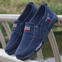 2020 мужские кроссовки на плоской подошве; Мужская парусиновая обувь; Весенняя джинсовая обувь; дышащая повседневная обувь; лоферы; Chaussure Homme; ...