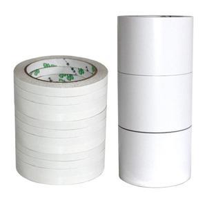 12 m branco super forte dupla face fita adesiva ultra-fina fita adesiva lavável traceless alta-adesivo dupla face