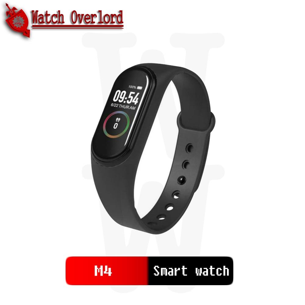 2020 M4  Smart Watch Heart Rate Monitor Blood Pressure Sport Bracelet Waterproof Fitness Tracker Activity Tracker xiao ml pk  m3 Smart Watches     - title=