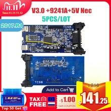 5 Stks/partij Cdp Tcs Met OBD2 Bluetooth 2016.00 Met Keygen Voor Auto Vrachtwagen OBD2 Diagnostic Tool Als Mvd En Multidiag code Reader