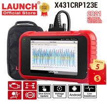 Launch X431 CRP123E OBD2 Auto Scanner Obd Obdii Engine Abs Airbag Srs Transmissie Diagnostic Tools Gratis Update Online Pk CRP123X