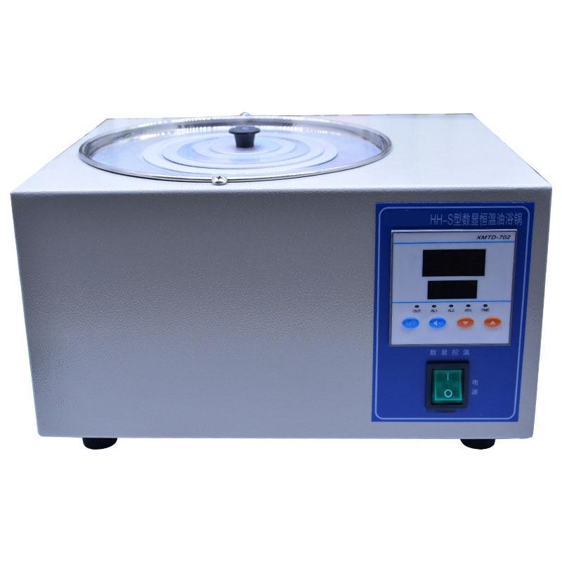 Heating Fast Power Consumption Low Oil Bath Laboratory Oil Bath Digital Display Constant Temperature Oil Bath Hh s 3l 5L