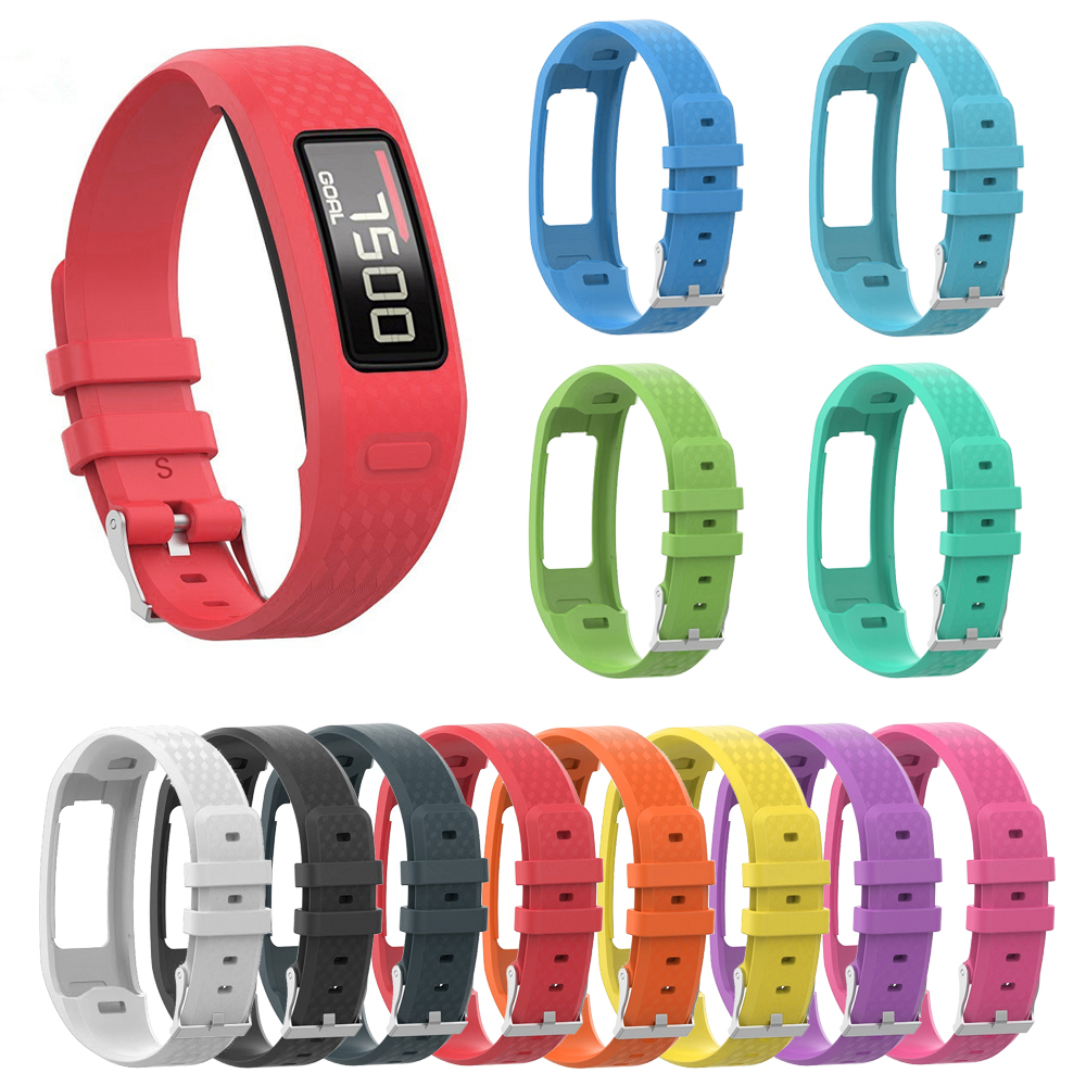 For Garmin Vivofit1 Vivofit2 Bracelet Belt S/L Size Silicone Wrist Strap Replacement Watch Band For Garmin Vivofit 1/Vivofit 2