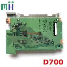 لوحة قارئ فتحة بطاقة الذاكرة لنيكون D700 CF, لوحة PCB ، استبدال وحدة الكاميرا ، قطعة إصلاح