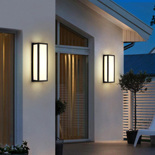 18W LED Outdoor Wall Lamp Modern LED Wall Light Aluminum Waterproof IP54 Garden Porch Patio Aside Front Door Wall Lighting