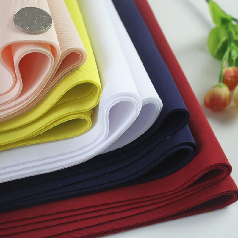 Tissu néoprène de haute qualité 2mm d'épaisseur bonne draperie Spandex tricoté pour veste