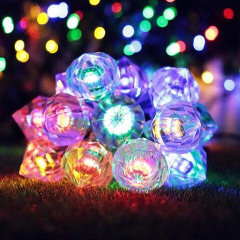 forma de diamante led energia da lampada