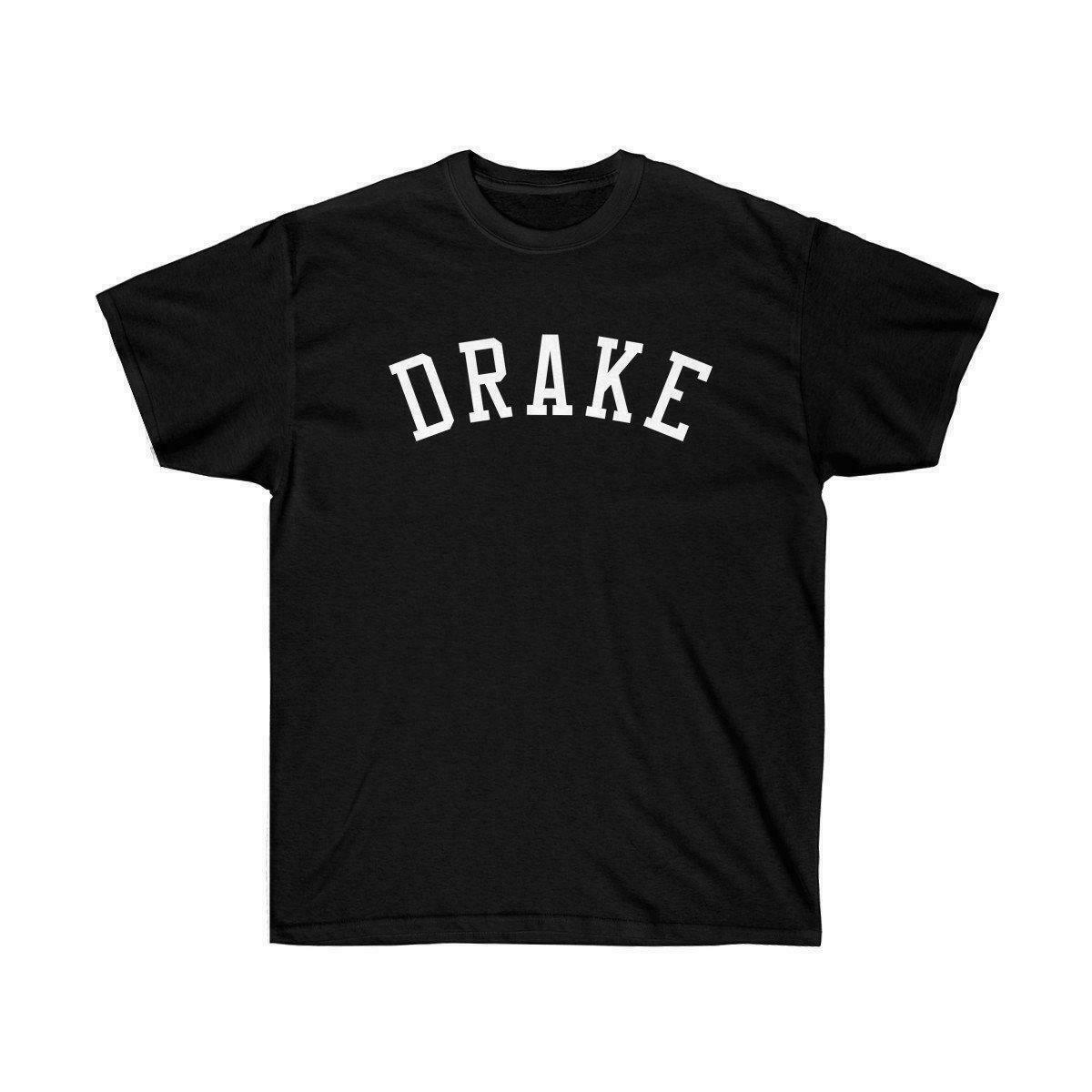 Drake Name Tee Sleeve T Shirt Summer Men Tee Tops Clothing Round Neck Best Selling Male Natural Cotton Shirt Top Tee image