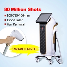 Diode Laser Hair Removal Machine 3wavelengths Painless And Permanent Equipment  Alma Soprano Ice Titanium For Beauty Salon