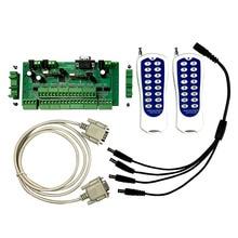 Nhà Thông Minh 32 Nút Công Tắc Bảng Điều Khiển Module Relay Bảng Điều Khiển Với Không Dây RF Remoter Điều Khiển 32 Ngõ Ra Rờ Le Dài Khoảng Cách