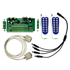 Image 1 - Smart Home 32 Buttons Switch Panel Module Relay Board Controller with RF Wireless Remoter Control 32 Relay Output Long Distance