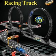 MGRC электрический трек гоночный 1:43 реальное Аналоговое кольцо сборка дорожки контроль ускорение конкурентоспособная трек игровой трек игрушечный автомобиль