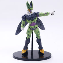 Z Cell Ultimate Shape Goku Battle Soldiers Awakening Cell Figura Brush PVC Action Figure Collection Toy