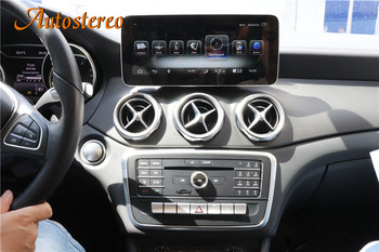 Android 9.0 Car GPS Navigation Auto Multimedia player For Mercede Benz CLA GLA A Class W176 2013-2019 Radio Stereo Car Headunit image