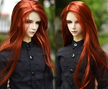 Parrucca 1/3 BJD parrucca Super Doll Bjd parrucca stile Mohair ricci