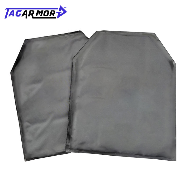 Tagarmor 2pcs/lot NIJ IIIA Soft Inner Bullet Proof Panel Aramid Ballistic Insert Panel For Backpack & JPCTactical Vest
