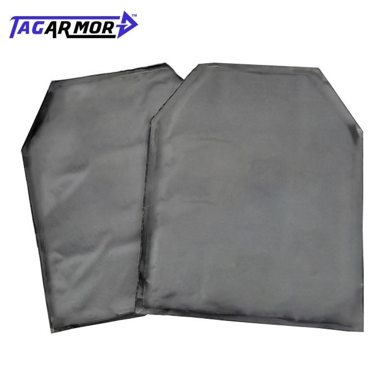 Tagarmor 2pcs/lot NIJ IIIA Soft Inner Bullet Proof Panel Aramid Ballistic Insert Panel For Backpack & JPCTactical Vest