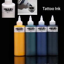 250ML Permanent tatouage Pigment 3D professionnel maquillage encre corps peinture Non-irritant étanche à la sueur costume tatouage stylo