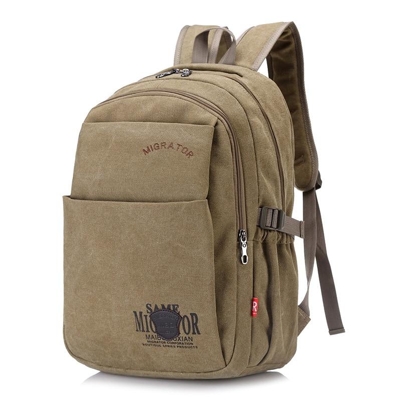 Cross Border For Solid Color Verticle Square Casual Backpack Japanese Korean Printed Backpack Waterproof Dirt Wear School Bag