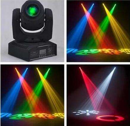 Led 4IN1 30W Mini Led Spot Moving Head Light Mini Moving Head Light 8 Gobos Effect DMX Stage Light