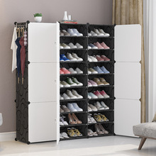 Multi-layer Home Assembly Door Shoe Cabinet Simple Modern Entrance Hall Cabinet Dustproof Shoe Rack Shoes Shelf