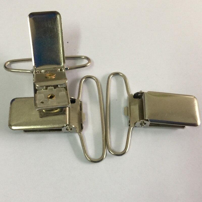 """10pcs 1.5/"""" Pacifier Metal Suspender Clips Ribbon Craft Hook Holder Insert Hot"""