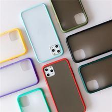Прозрачный чехол для телефона tpu матовый мобильный телефон