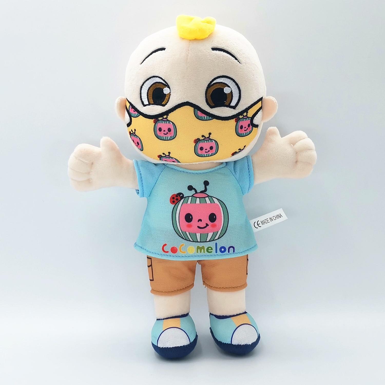 BIG JJ Music Plush Doll Cocomelon Pillow Soft Toys for Baby Plush JJ Doll Educational Stuffed Sing Toys Cute Kids Gift 5
