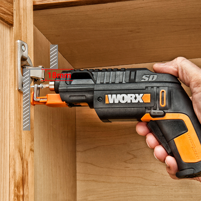 Worx 4V SD SLIDE DRIVER WX255.4 Mini Electrical Screwdriver Set Cordless Electric Screwdrivers
