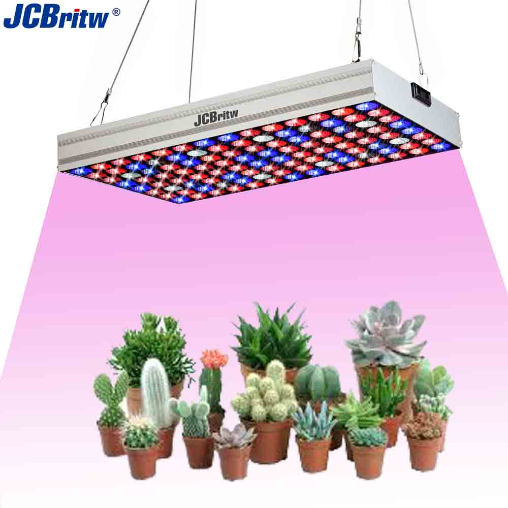 JCBritw LED Grow Light Panel Full Spectrum UV IR With Daisy Chain 100W Pro Plant Growing Lamp Bulb For Indoor Plants Greenhouse