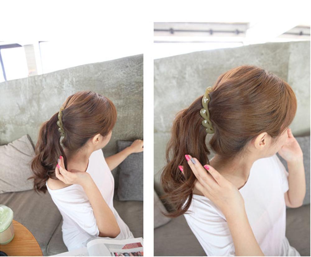 Купить женские скрученные заколки для волос 1 шт модные косички в корейском
