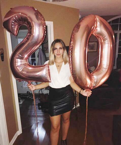 2pcs 32inch 40inch Silver Gold Number Foil Balloon Large Digit 20 Helium Balloon Wedding <font><b>Decoration</b></font> <font><b>20th</b></font> <font><b>Birthday</b></font> Party Supplies image