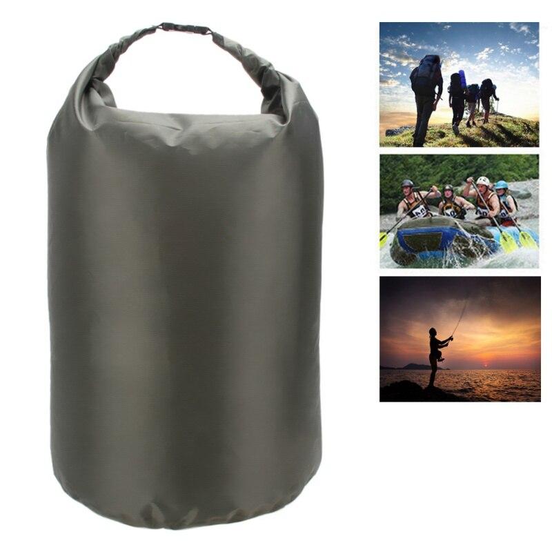 5L/20L/50L Waterproof Dry Bag Swimming Dry Organizer  Roll Top Sack Kayaking Rafting Boating Beach Fishing Storage Bag