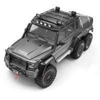 Metal Car Roof Rack Luggage Carrier with LED Light for 1/10 TRAXXAS TRX6 G63 /TRX4 G500 RC Crawler Car Parts Accessories