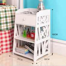 Storage-Organizer Table-Desk Drawer Cabinet Night-Stand Bedside Bedroom Hallway Nordic
