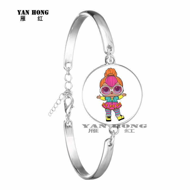 YANHONG 2019, קריקטורה בובה בעבודת יד אופנה צמיד lollipop בובת יש הפתעה בובת ילדי כמו מתנות