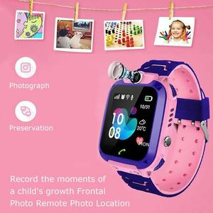 Image 2 - ساعة ذكية للأطفال بشاشة لمس 1.44 بوصة مقاومة للمياه مع خاصية تتبع المواقع للأطفال ساعة ذكية للتحدث من أجل Setracker2